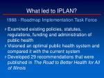 what led to iplan3