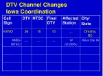 dtv channel changes iowa coordination71