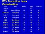 dtv transition iowa coordination63