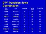 dtv transition iowa coordination64