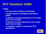 dtv transition iowa