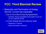 fcc third biennial review