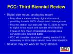 fcc third biennial review25