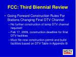 fcc third biennial review29