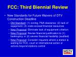 fcc third biennial review30