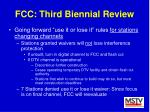 fcc third biennial review33