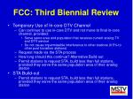 fcc third biennial review36