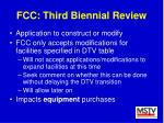 fcc third biennial review38