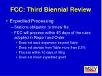 fcc third biennial review39