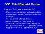 fcc third biennial review40