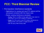fcc third biennial review41