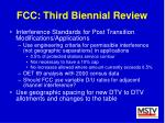 fcc third biennial review42