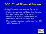 fcc third biennial review43