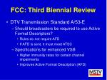 fcc third biennial review44