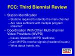fcc third biennial review46