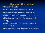 speakon connectors34