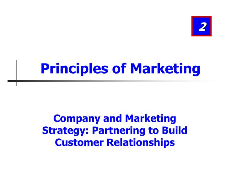 principles of marketing n.