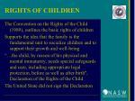 rights of children