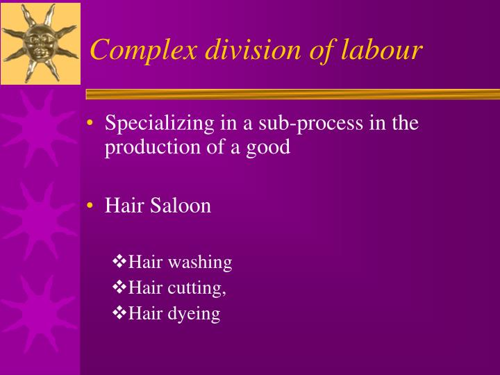 Complex division of labour