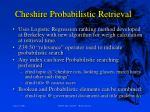 cheshire probabilistic retrieval