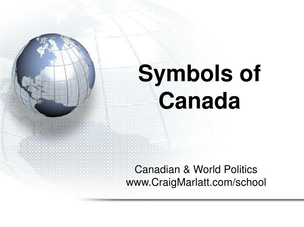 symbols of canada l.