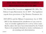 h r 2826 the habeas corpus restoration act of 2007