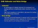 g4b voltmeter and noise bridge