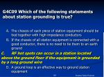 g4c09 which of the following statements about station grounding is true96