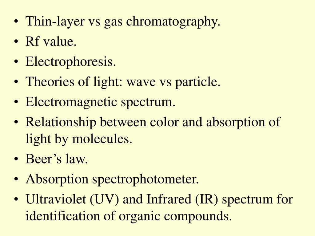 PPT - Ch 5 - Organic Analysis PowerPoint Presentation - ID