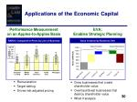 applications of the economic capital