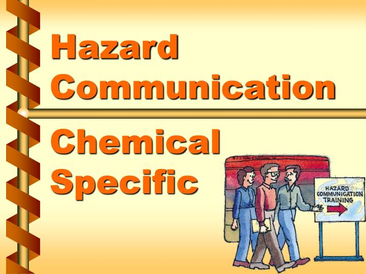 hazard communication chemical specific n.