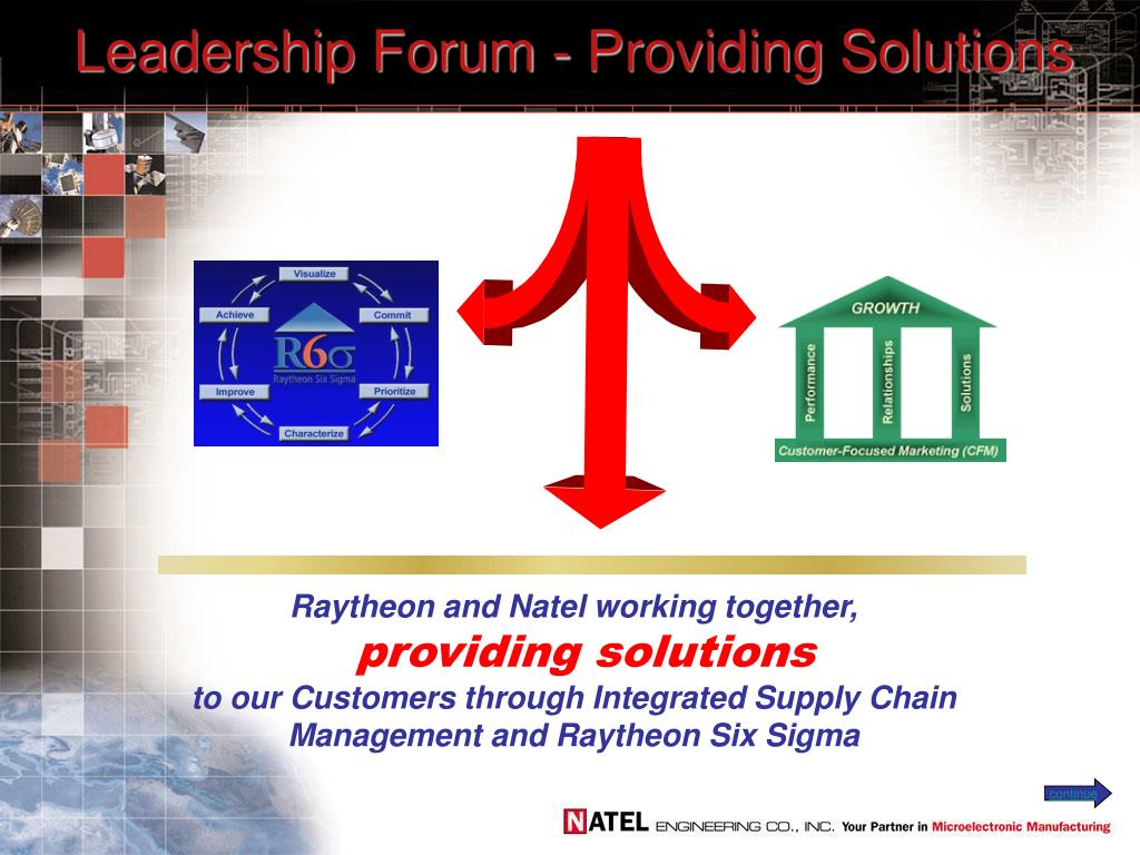 leadership forum providing solutions l.