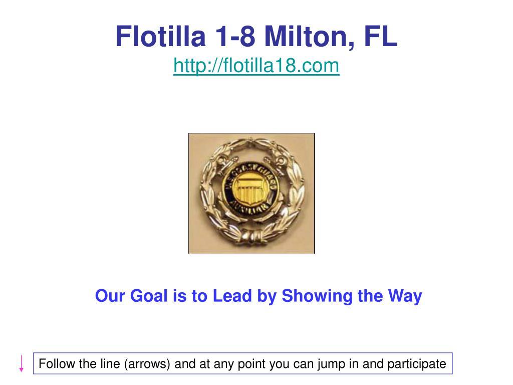 flotilla 1 8 milton fl http flotilla18 com l.