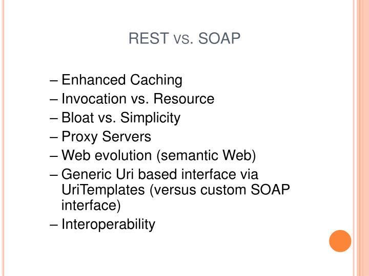 REST vs.