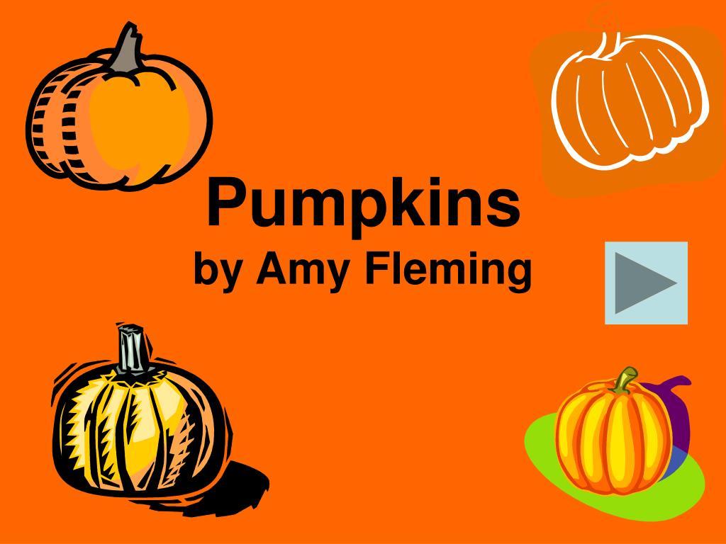 pumpkins by amy fleming l.