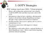 3 gotv strategies