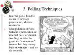 3 polling techniques