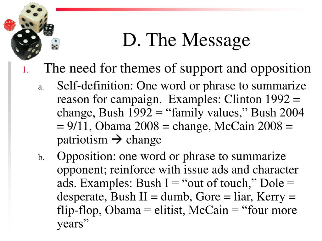 D. The Message