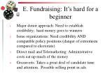 e fundraising it s hard for a beginner