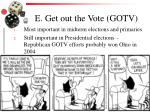 e get out the vote gotv