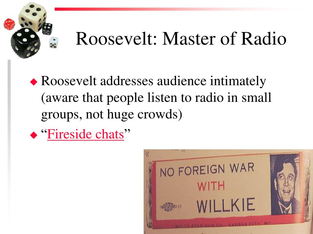 Roosevelt: Master of Radio