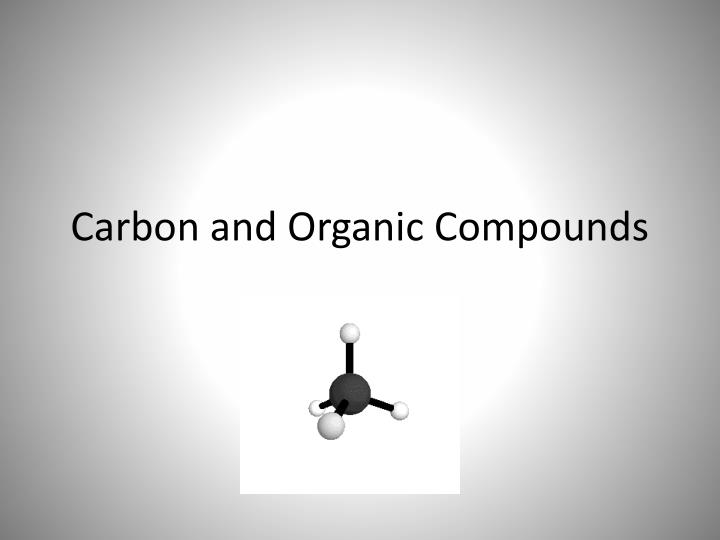 carbon and organic compounds n.