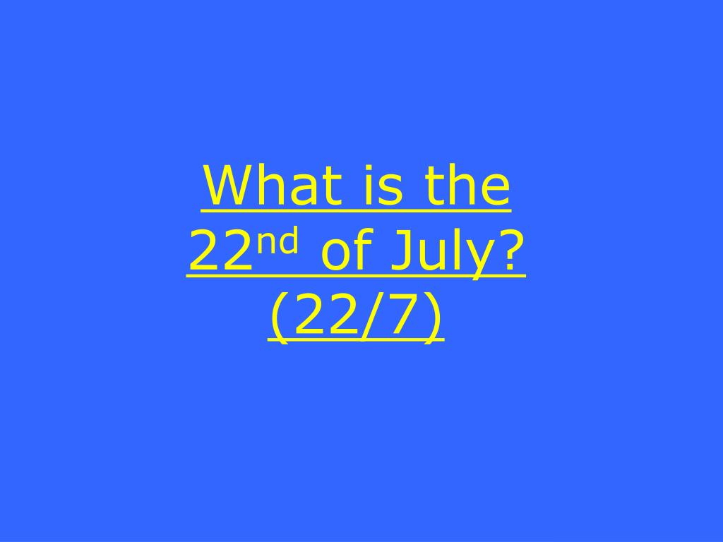 What is the 22