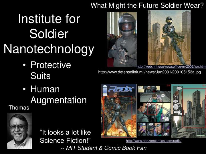 What Might the Future Soldier Wear?