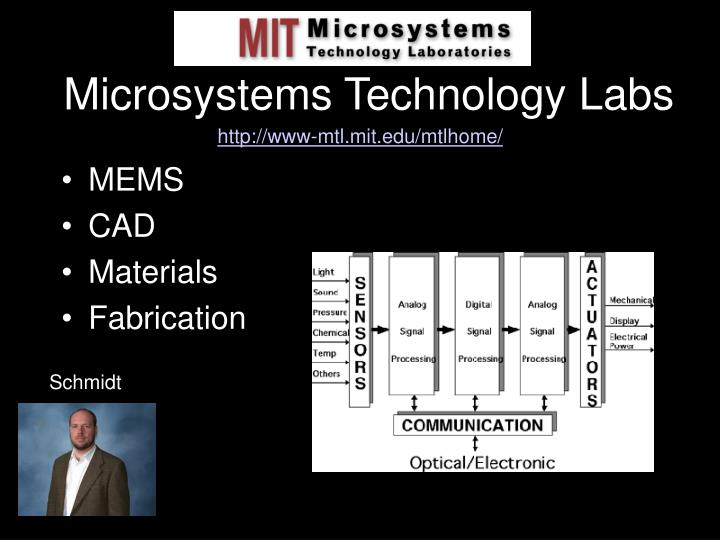 Microsystems Technology Labs