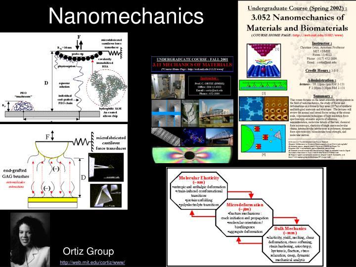 Nanomechanics