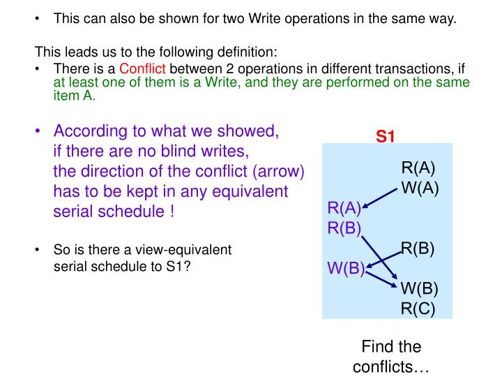 This can also be shown for two Write operations in the same way.
