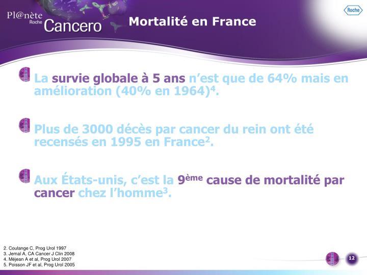Mortalité en France