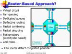 router based approach