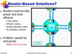 router based solutions